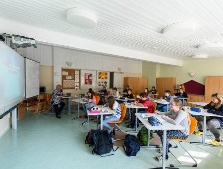 Unterricht an der Hermann-Lietz-Schule Haubinda