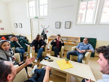 Diskussionsgruppe Hermann-Lietz-Schule Haubinda