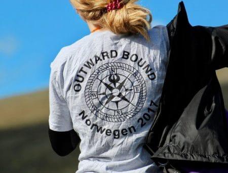 Outward Bound Teilnehmerin
